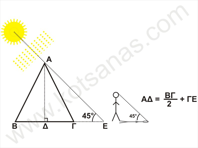 how to find the height of a pyramid